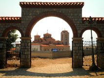 Monastère dans Ohrid Image stock