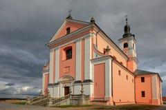 Monastère dans Wigry photographie stock libre de droits
