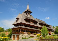 Monastère de Barsana, Roumanie Photo libre de droits