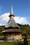 Monastère de Barsana Wodden Photo libre de droits
