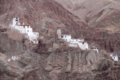 Monastère de Basgo dans Ladakh, Inde, Image libre de droits