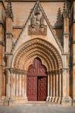 Monastère de Batalha, Portugal Photos stock