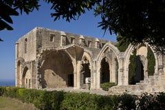 Monastère de Bellapais - Chypre turque Photos libres de droits