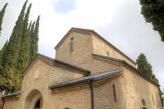 Monastère de Bodbe Kakheti georgia images libres de droits