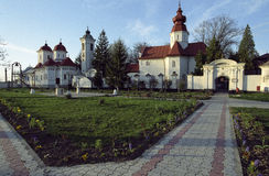 Monastère de Bodrog Images libres de droits