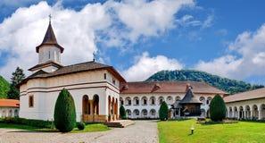 Monastère de Brancoveanu en Sambata de Sus, Roumanie Image libre de droits