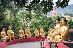 Monastère de Buddhas de dix-millièmes photographie stock
