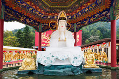 Monastère de Buddhas de dix-millièmes Photo libre de droits