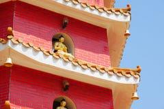 Monastère de buddhas de dix-millièmes Images stock