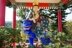 Monastère de buddhas de dix-millièmes Photo stock