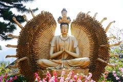 Monastère de buddhas de dix-millièmes Photos stock