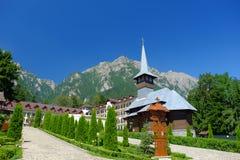 Monastère de Caraiman Image libre de droits