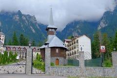 Monastère de Caraiman Images libres de droits
