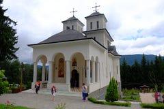 Monastère de Caraiman Photos libres de droits