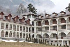 Monastère de Caraiman - salles Images libres de droits