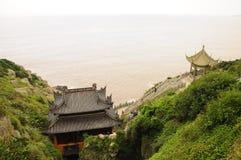Monastère de caverne de Fanyin Images libres de droits