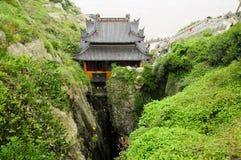 Monastère de caverne de Fanyin Photographie stock