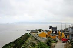 Monastère de caverne de Fanyin Photo stock