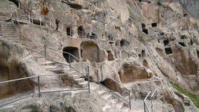 Monastère de caverne de Vardzia georgia clips vidéos