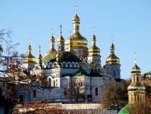 Monastère de cavernes à Kiev Photographie stock