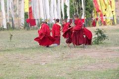 Monastère de Chimi Lhakang, Punakha, Bhutan Image stock