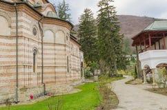 Monastère de Cozia Images libres de droits