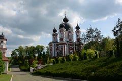 Monastère de Curchi dans Moldau ! photographie stock