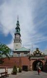 Monastère de Czestochowa Images libres de droits