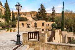 Monastère de débutant de saint, Paphos, Chypre image stock