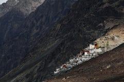 Monastère de Diskit Image libre de droits