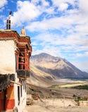 Monastère de Diskit Image stock