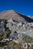 Monastère de Diskit, vallée de Nubra, Leh-Ladakh, Jammu-et-Cachemire, Inde Photos libres de droits