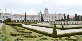 Monastère de Dos Jeronimos, ville de Lisbonne, l'Europe Photos stock
