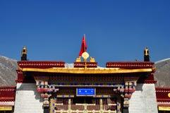 Monastère de Drepung Photographie stock libre de droits