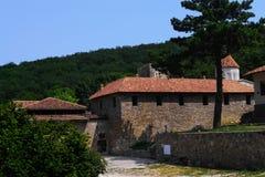 Monastère de forêt Photo stock
