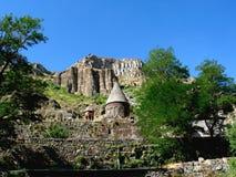 monastère de geghard de l'Arménie Photographie stock libre de droits