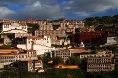 Monastère de Gyantse Image libre de droits