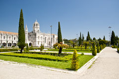 Monastère de Hieronymites Images libres de droits