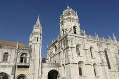 Monastère de Jerónimos à Lisbonne, Portugal Photos libres de droits