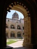 Monastère de Jeronimos à Lisbonne images libres de droits