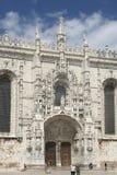 Monastère de Jeronimos, Liboa, Portugal image libre de droits