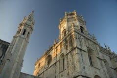 Monastère de Jeronimos, Liboa, Portugal photos stock