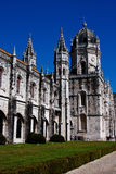 Monastère de Jeronimos - Lisbonne Images libres de droits