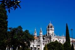 Monastère de Jeronimos - Lisbonne Photos stock