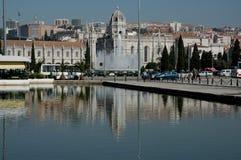 Monastère de Jeronimos, Lisbonne Images libres de droits