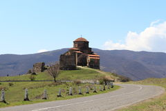 Monastère de Jvari Photos libres de droits
