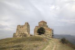 Monastère de Jvari georgia photos libres de droits