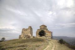 Monastère de Jvari georgia photo stock
