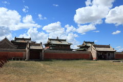 Monastère de Kharkhorin Erdene Zuu photo stock