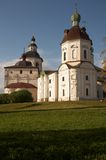 Monastère de Kirillo-Belozerskij. Photographie stock libre de droits